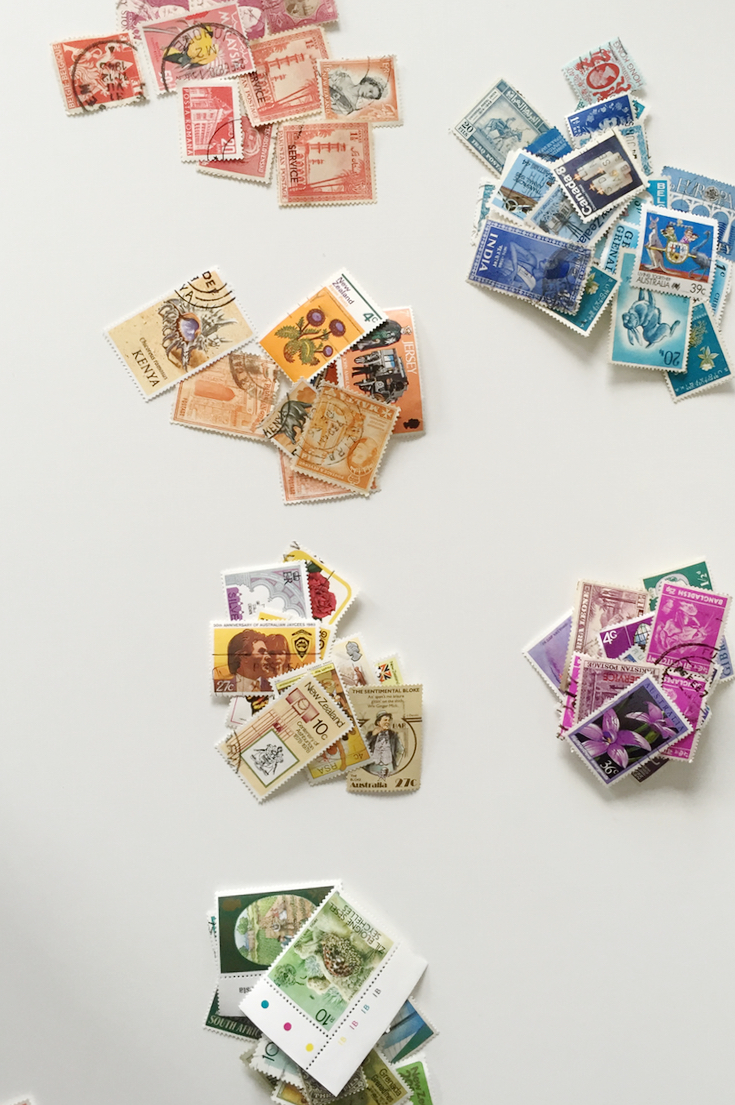 Rainbow stamp artwork 4