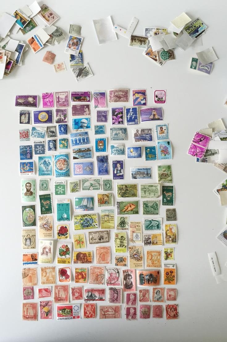 Rainbow stamp artwork 5