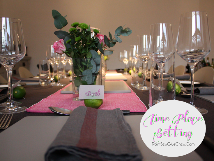 Lime Place Settings