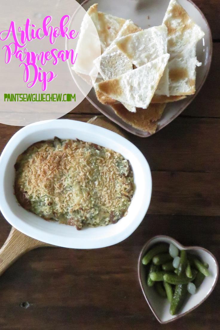Artichoke Parmesan Dip