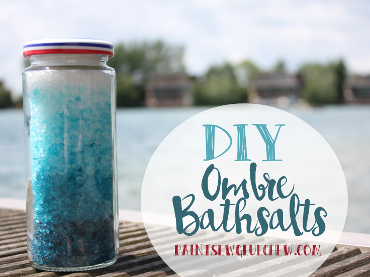 Ombre bath Salts