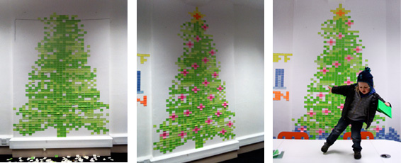 Post It Note Christmas Tree