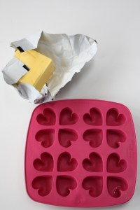 How to make butter hearts