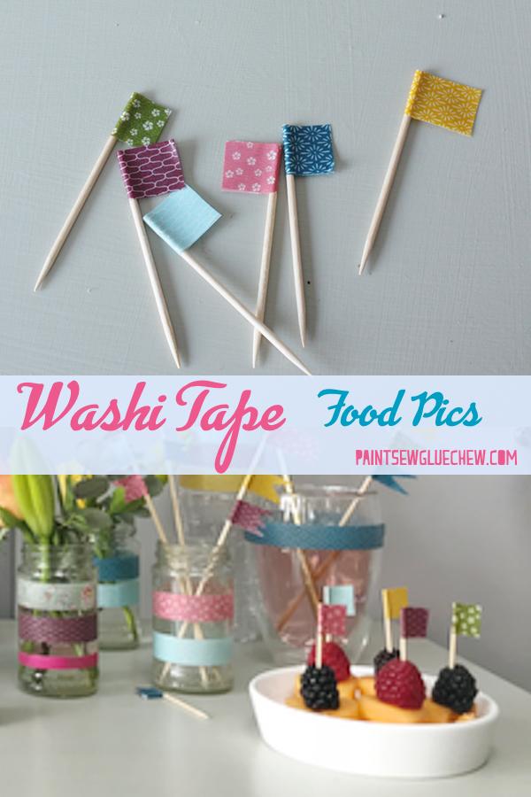 Washi Tape Food Pics
