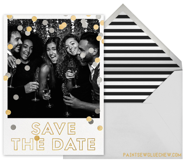 Kate Spade Save the Date Card