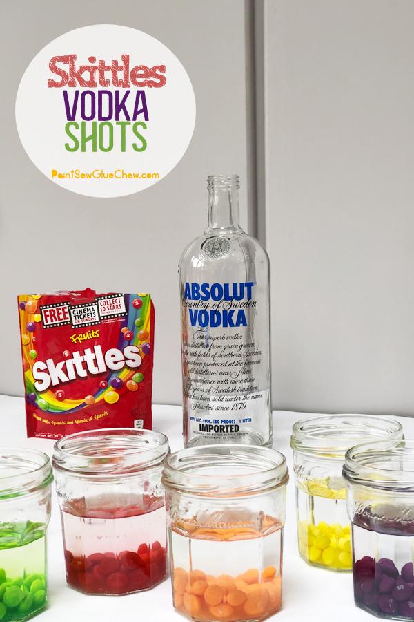 skittles in vodka