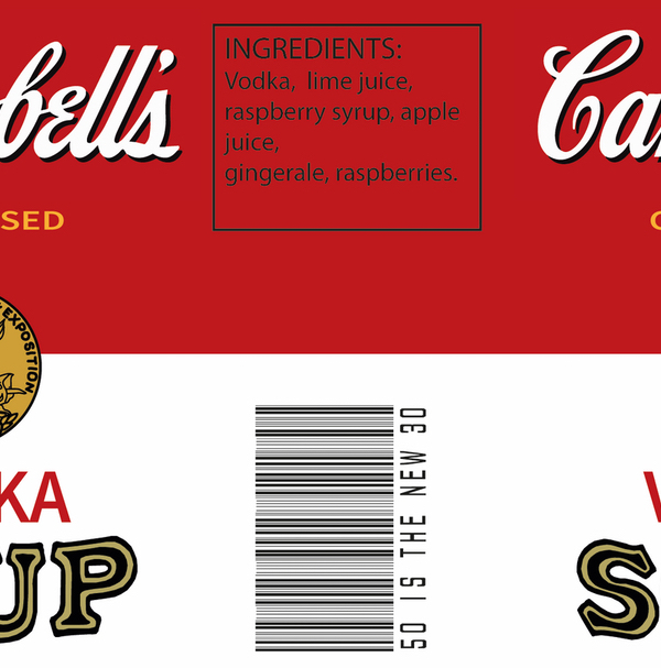 campbells soup cocktail can ideas