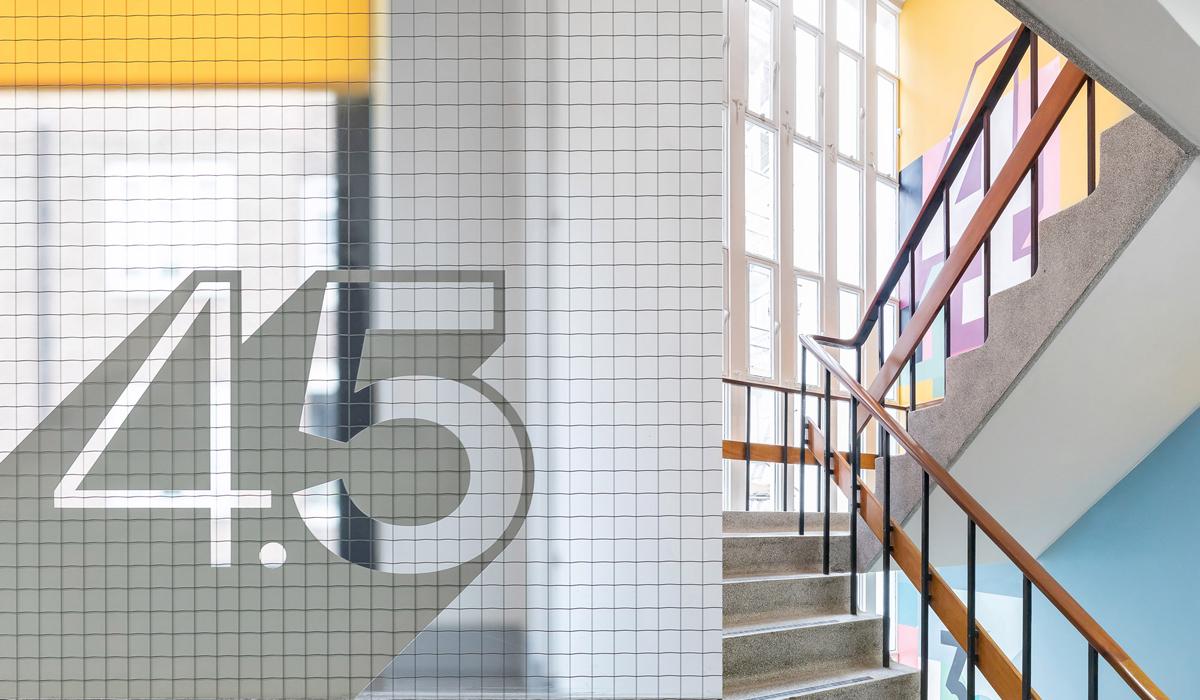 Bayswater College London Mural Graphics and Wayfinding Design by Paintshop Studio