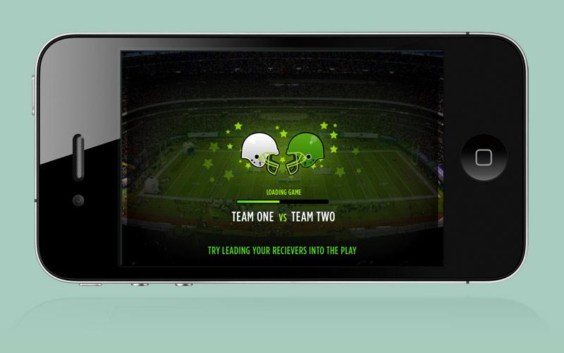 MIKE VICK GAME TIME FOOTBALL MOBILE PHONE APP GRAPHICS DESIGN PAINTSHOP STUDIO