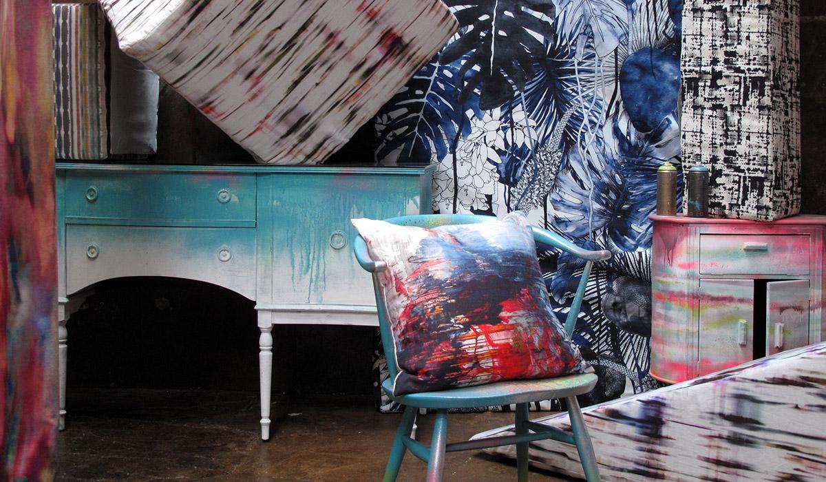 Homes & Garden Magazine Trends Supplement Spring Summer 2014 Graffiti Furniture Styling Paintshop
