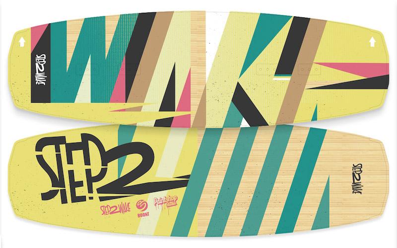 Step 2 Wake Wakeboard Design by Paintshop Studio