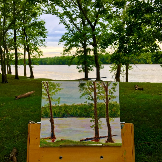 This was a nice stopping point to finish off a fun day at Harmonie State Park! More to come.