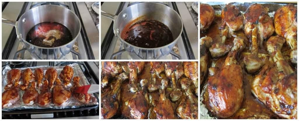Jamaican Jerk Chicken Stages