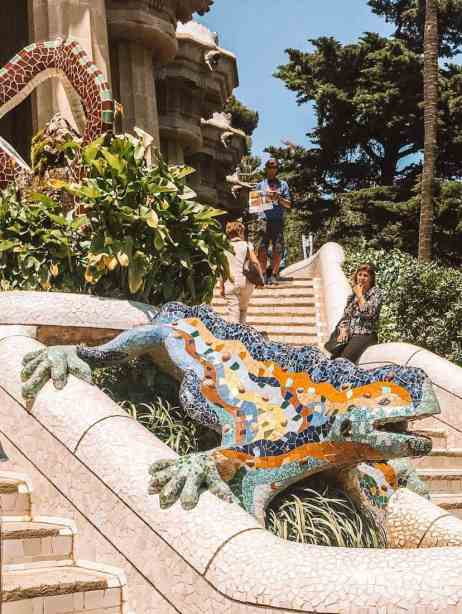 Parc Guell  is a great option for families exploring Barcelona with kids.