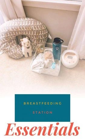 breastfeeding station essentials