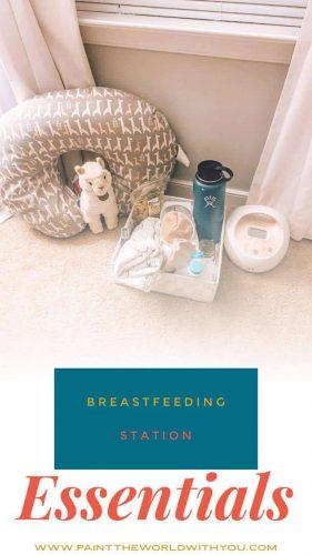 breastfeeding station essentials