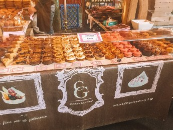 Sweets from Borough Market in London