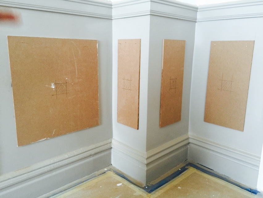 Wall Trim Ideas Faux Wainscoting In A NYC Dining Room