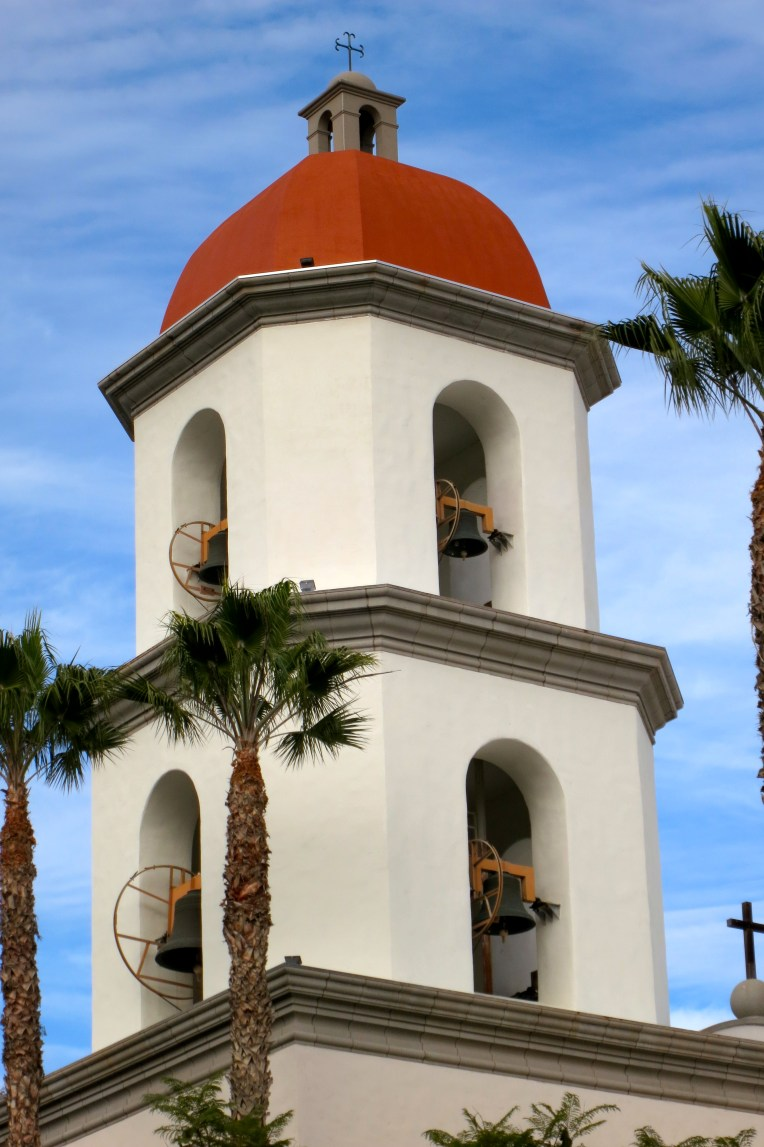 Mission Basilica bell tower