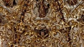 Gold-leaf chapel ceiling ~ Puebla