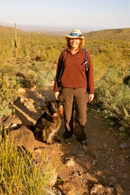 Polly and Nina at Pass Mtn