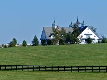 Striking horse property at Keeneland