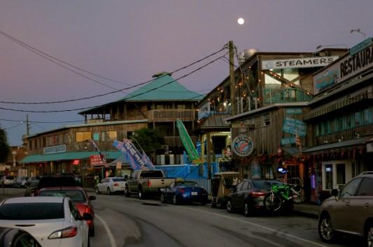 Dock St on Cedar Key