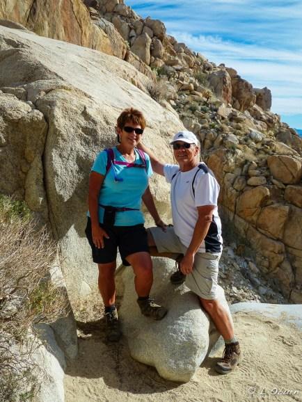 Pam and John at Smuggler's Canyon