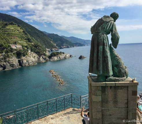 St Francis stands watch
