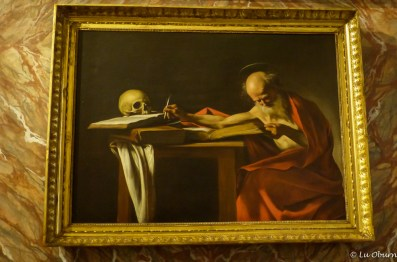 Caravaggio's St. Jerome Writing