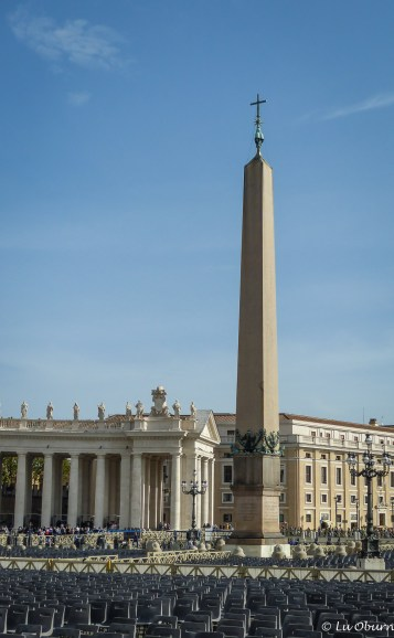 This 2,000 year old obelisk stands 90 feet tall.