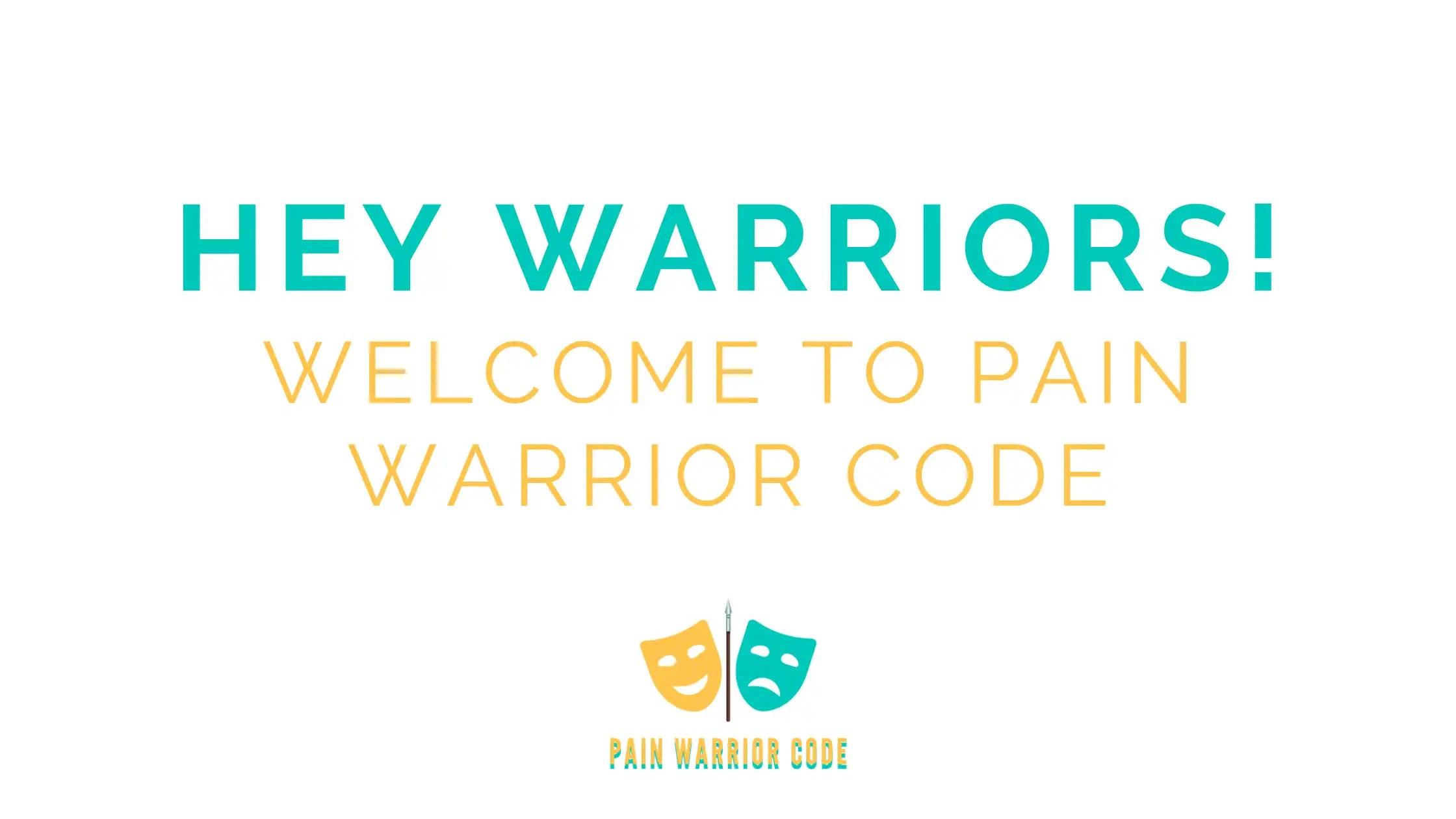 Hey Warriors! Welcome to Pain Warrior Code Title