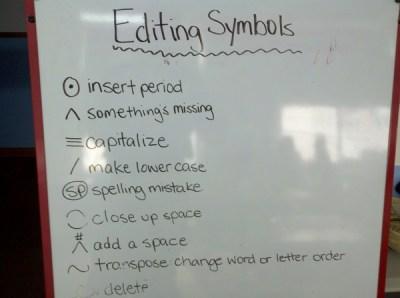 No Office Day - Editing Symbols