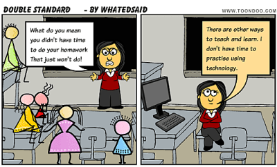 """""""Doulbe Standard by WhatEdSaid on Toondoo"""""""