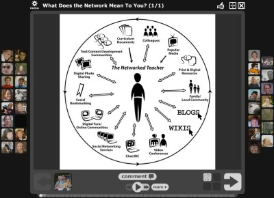 """The Networked Teacher VoiceThread ~ by Alec Couros"""