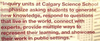 """Inquiry at CSS"""