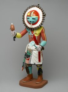 I was given this beautiful Sun Kachina by a local Native American artist from the Second Mesa on my 30th birthday. He then instructed me to take it and my white boy suburban existential angst and shove it up my ass.