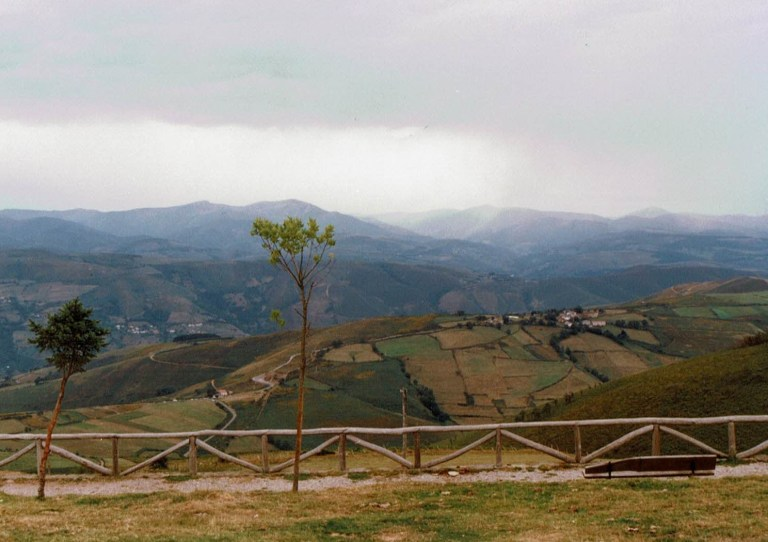 Vistas desde el Monasterio de la Virgen del Acebo
