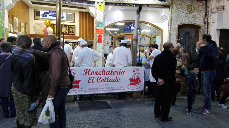 Chocolateria típica en Valencia