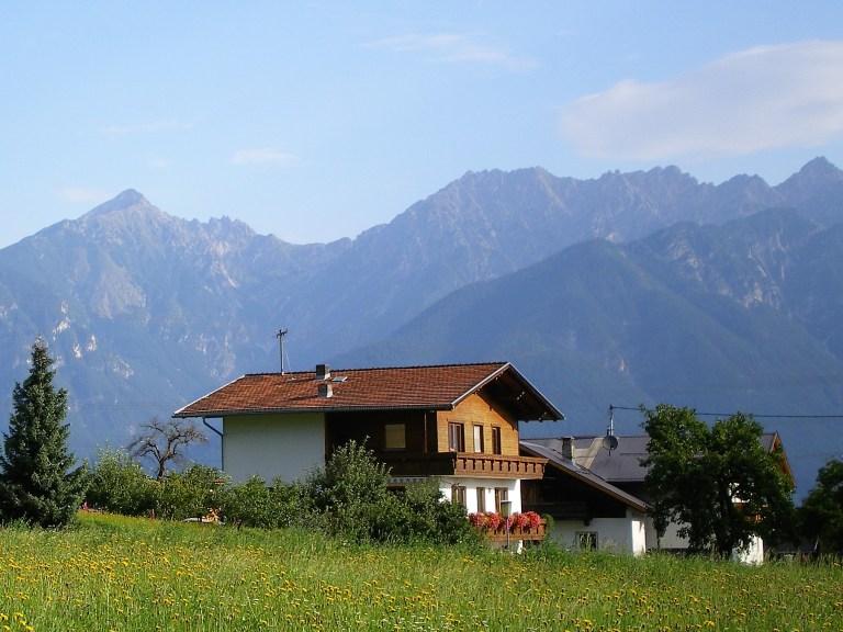 casa tirolesa en el tirol austriaco