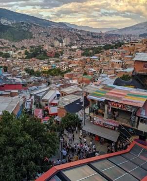 escaleras eléctricas Comuna 13 Medellin