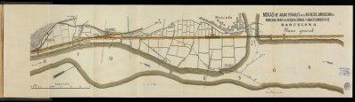 Planol del 1897 del Rec Comtal