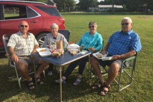 car rally supper