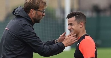 Barcelona Prepared to Up Coutinho Offer to £138mil, Brazilian Misses Hoffenheim Showdown