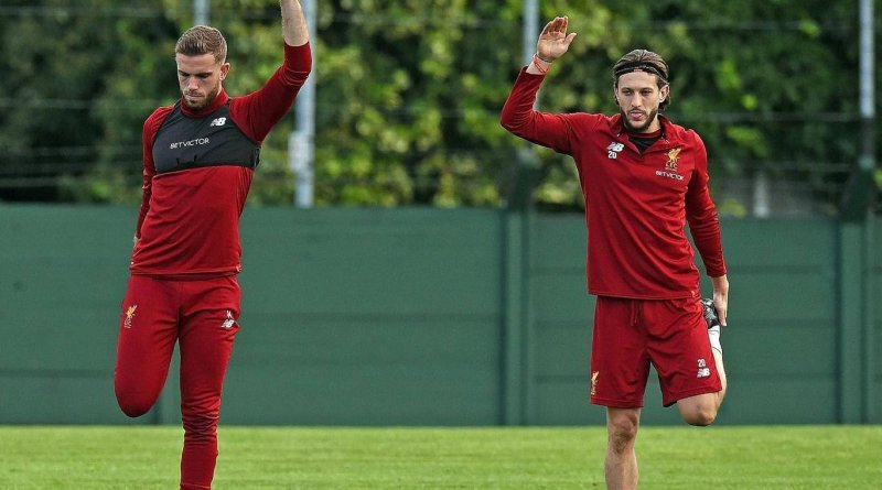 Lallana and Henderson