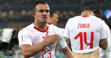Shaqiri Completes Liverpool Medical, Swiss Football Association Announces Transfer