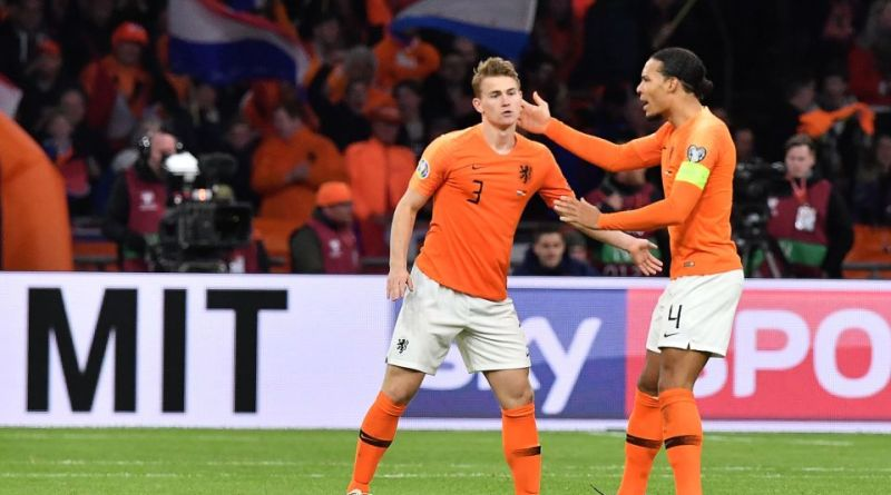 Van Dijk and De Ligt Netherlands