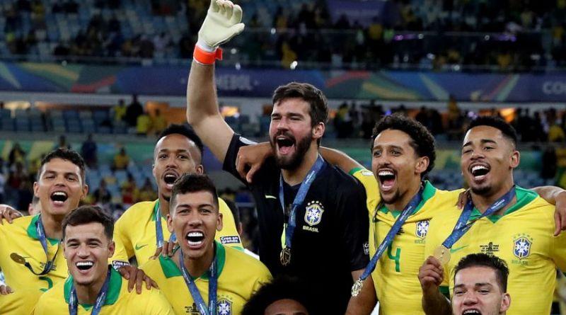 Liverpool Alisson Firmino Brazil Copa America