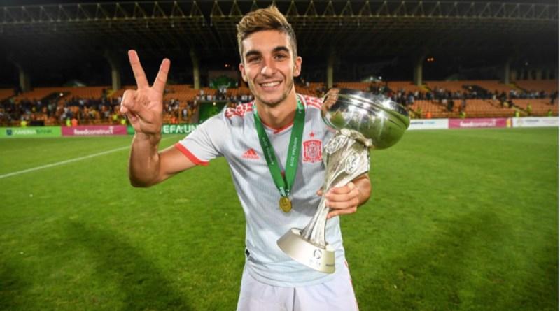 Spaniard Ferran Torres of Valencia