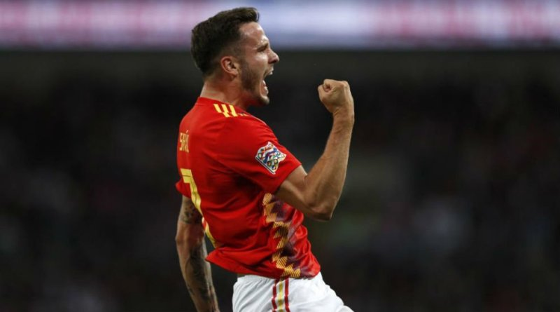 Saul Spain and Atletico Madrid midfielder